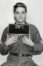 Elvis Presley poster: Enlistment Photo (24x36)