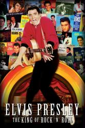 Elvis Presley poster: The King of Rock 'N' Roll (24x36) Album Covers