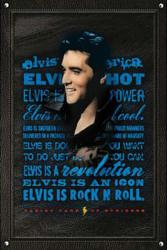 Elvis Presley poster: Elvis Is Rock N Roll (24'' X 36'') New