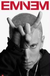 Eminem poster: Devil Horns (24x36)