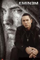 Eminem poster: Mosaic Portrait (24 X 36) New