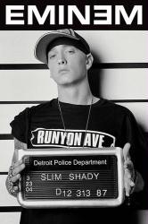 Eminem poster: Slim Shady Mughot (24x36)