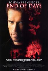 End of Days movie poster [Arnold Schwarzenegger] 27x40 NM