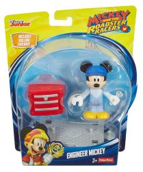 Mickey and the Roadster Racers: Engineer Mickey Mouse figure (Disney)