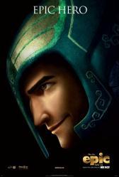 Epic movie poster [27 X 40 original 2013 advance] Epic Hero