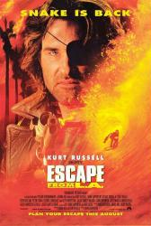 Escape From L.A. movie poster [Kurt Russell] 27x40 NM
