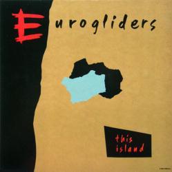 Eurogliders poster: This Island vintage LP/Album flat (1984)