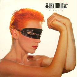 Eurythmics poster: Touch vintage LP/Album flat