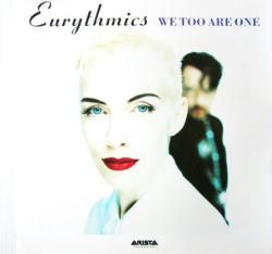 Eurythmics poster: We Too Are One vintage LP/Album flat