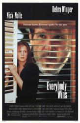 Everybody Wins movie poster [Nick Nolte, Debra Winger] original 27x41