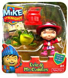Mike the Knight: Evie & Mr. Cuddles figures (Fisher Price/2012)