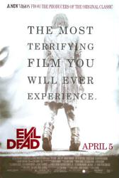 Evil Dead movie poster (2013) original 27x40 one-sheet
