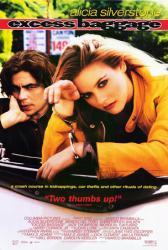 Excess Baggage movie poster [Alicia Silverstone/Benicio Del Toro] NM