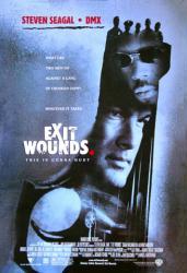 Exit Wounds movie poster [Steven Seagal & DMX] 27x40