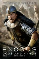 Exodus: Gods and Kings movie poster [Christian Bale] 27x40 original