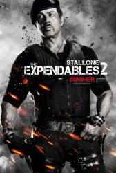 The Expendables 2 movie poster [Sylvester Stallone] 27x40 advance