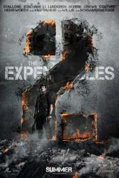 The Expendables 2 movie poster [Sylvester Stallone] advance teaser