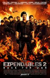 The Expendables 2 movie poster [Stallone/Schwarzenegger/Chuck Norris]