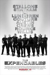 The Expendables movie poster [Sylvester Stallone/Jason Statham/Jet Li]