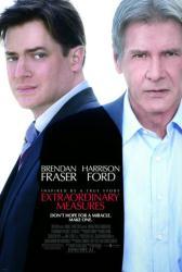 Extraordinary Measures movie poster [Brendan Fraser & Harrison Ford]