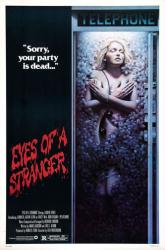Eyes of a Stranger movie poster [Lauren Tewes] original 1981 one-sheet