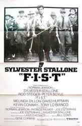 F.I.S.T. movie poster (1978) [Sylvester Stallone] original 27x41