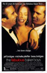 The Fabulous Baker Boys movie poster [Jeff Bridges, Michelle Pfeiffer]