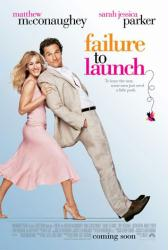 Failure To Launch poster [Matthew McConaughey & Sarah Jessica Parker]