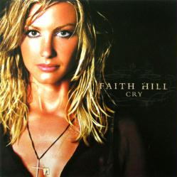 Faith Hill poster: Cry vintage LP/Album flat (2002)