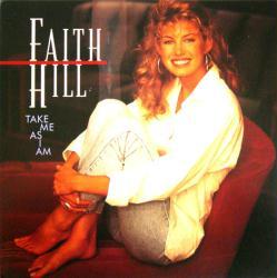 Faith Hill poster: Take Me As I Am vintage LP/Album flat