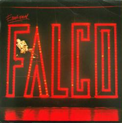 Falco poster: Emotional vintage LP/Album flat