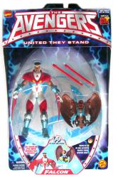 The Avengers [United They Stand] Falcon action figure (ToyBiz/1999)