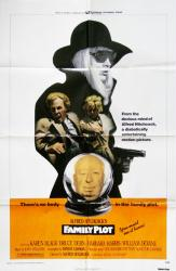 Family Plot movie poster [Karen Black] Alfred Hitchcock original 27x41