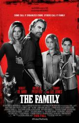 The Family movie poster [Robert De Niro & Michelle Pfeiffer] 27 X 40