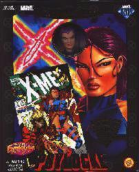 Famous Covers: Psylocke 8'' action figure [ToyBiz/2000) X-Men