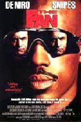 The Fan movie poster [Robert DeNiro & Wesley Snipes] 2-sided poster