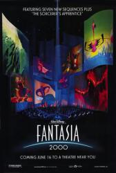 Fantasia 2000 movie poster [Walt Disney] original 27x40 one-sheet