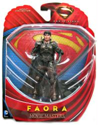 Man of Steel: Faora Movie Masters action figure (Mattel/2013)