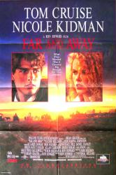Far and Away movie poster [Tom Cruise, Nicole Kidman] 27x40