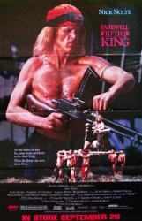 Farewell to the King movie poster [Nick Nolte] 25x38 video version
