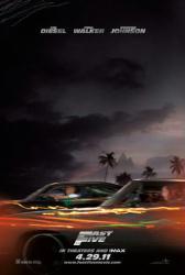 Fast Five movie poster [Vin Diesel, Paul Walker] original 27x40