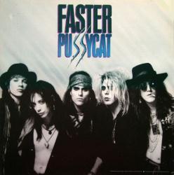 Faster Pussycat poster: Faster Pussycat vintage LP/Album flat (1987)