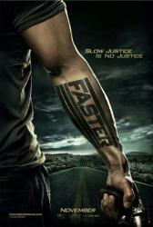 Faster movie poster (2010) original 27x40 advance