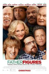 Father Figures movie poster [Owen Wilson, Ed Helms, Glenn Close] 27x40