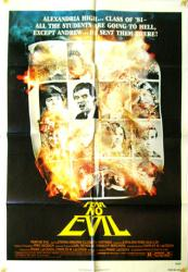 Fear No Evil movie poster [1981 devil movie] original 27x41 one-sheet