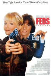 Feds movie poster [Rebecca De Mornay, Mary Gross] original 27x40