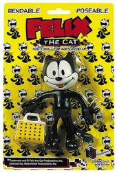 Felix the Cat bendable poseable figure (NJ Croce Co.) New