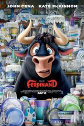 Ferdinand movie poster (27x40 original) 2017 animated film