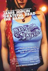 Festival Express movie poster (2003 documentary) 27x40 original