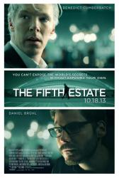 The Fifth Estate movie poster [Benedict Cumberbatch & Daniel Bruhl]